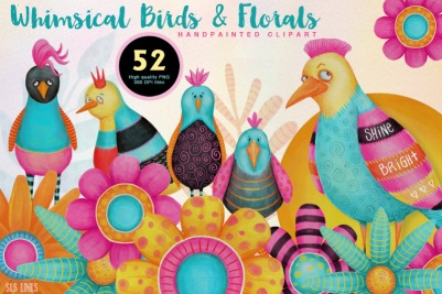Whimsical_Birds_and_Flowers