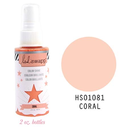 Heidi Swapp Coral Color Shine